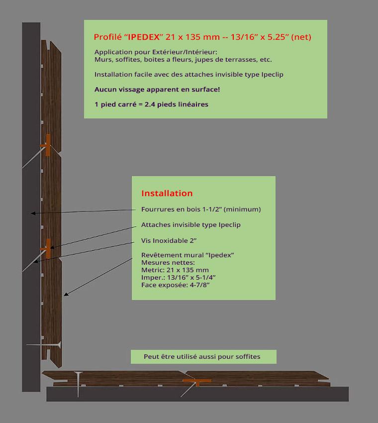 jupe finition terrasse bois composite